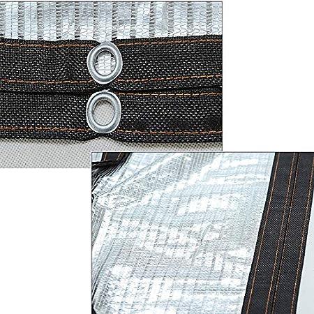 Dach Dach Zyb Aluminium Schattennetz Sonnennetz Sonnendach Dach D/ämmungsnetz