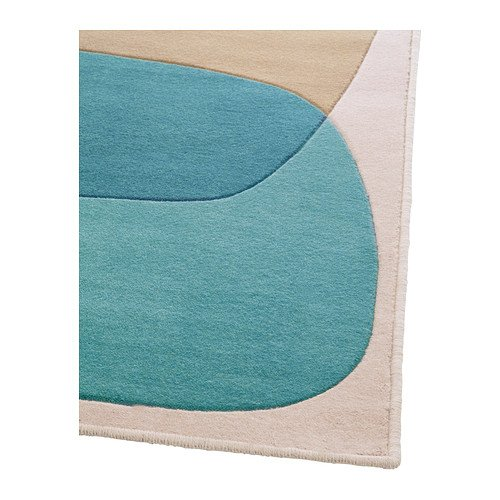 amazing ikea malin figur rug low pile turquoise x cm amazoncouk kitchen u home with tapis shaggy. Black Bedroom Furniture Sets. Home Design Ideas
