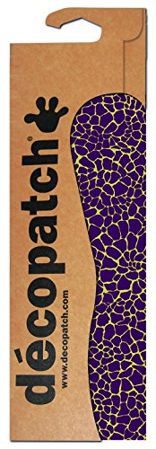 décopatch Brown Reptile Print Paper, 30 x 40 cm, Pack of 3 Sheets