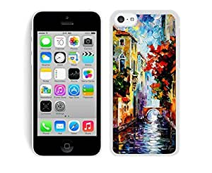 Case,Iphone,Amazon,Belt Clip and Case Combo,Painting Venice iPhone 5C Case White Cover