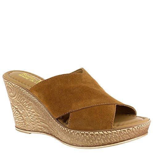 Bella Vita EDI-Italy Women's Sandal Tobacco Italian Suede tumblr cheap price lugvQg