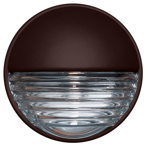 UPC 767893921835, Besa Lighting 301998-F1 3019 Series Interior & Exterior Wall Sconce with Rust Glass, 120V