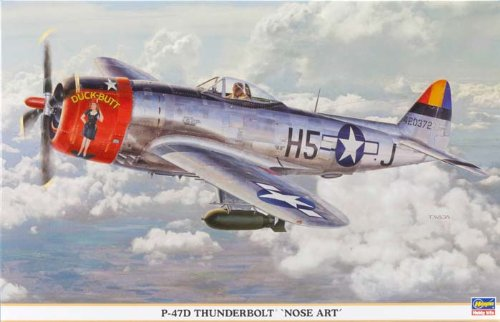 Hasegawa P-47D Thunderbolt Nose Art Limited Edition Model Kit