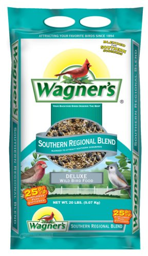 Food Bird Lb 20 Wild (Wagner's 62012 Southern Regional Blend, 20-Pound Bag)