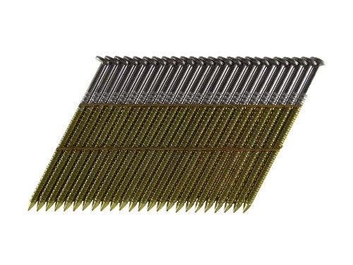 B&C Eagle 238X113R/28 Offset Round Head 2-3/8-Inch x .113 x 28 Degree Bright Ring Shank Wire Collated Framing Nails (2,000 per box)