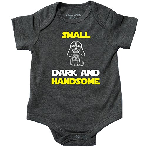 Darth Vader, Handsome Boy, Movie Gift, Small Dark and Handsome Gray, 3-6 Months