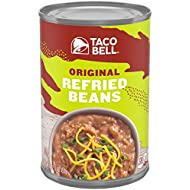 Taco Bell Fat Free Refried Beans (16 oz Cans, Pack of 12)