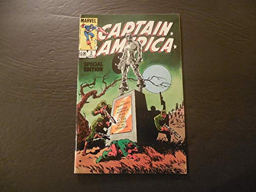 Captain America Special Edition #2 Mar 1984 Copper Age Marvel Comics