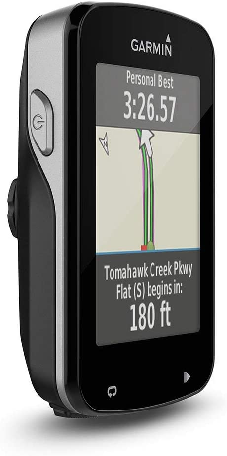 Garmin Edge 820 Bundle - Ordenador para Bicicletas, Resolución de pantalla 200 x 265 píxeles, Pantalla táctil, Receptor de alta sensibilidad, Negro: Amazon.es: Deportes y aire libre