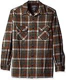 Pendleton Men's Big & Tall Long Sleeve Board Shirt, Rust Beach Boy, LG