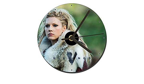 MasTazas Vikingos Vikings Lagertha Katheryn Winnick Reloj CD Clock ...