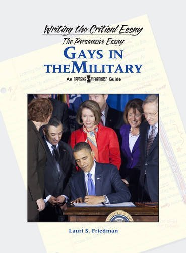 Gays In The Military Writing The Critical Essay  Kindle Edition  Gays In The Military Writing The Critical Essay By Friedman Lauri S Essay Examples For High School Students also Teaching Essay Writing To High School Students  College Essay Paper