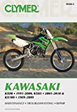 img - for Clymer Kawasaki Kx80 1991-2000, Kx85 2001-2010 & Kx100 1989-2009 (Clymer Motorcycle Repair) by Mike Morlan (7-Apr-2010) Paperback book / textbook / text book