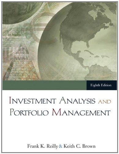 Investment Analysis And Portfolio Management  With Thomson One   Business School Edition
