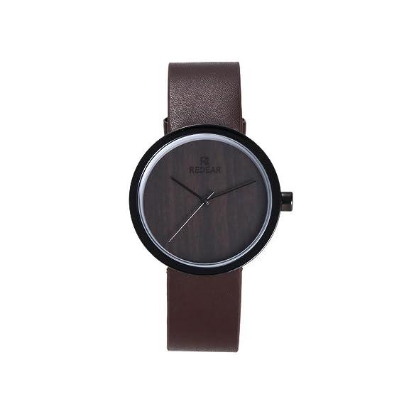 de las mujeres analógica japonesa movimiento de cuarzo del dial redondo reloj de pulsera Caja de