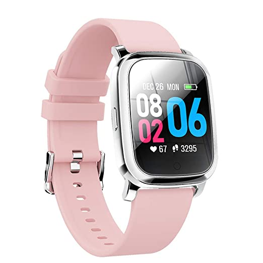 WLPT Smartwatch de Ritmo cardíaco, presión Arterial del ...