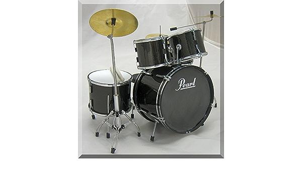 Pearl Set en miniatura, diseño de batería Drumset para mostrar sólo: Amazon.es: Instrumentos musicales