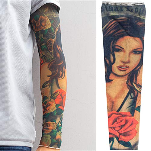 Zhuhuimin 3 unids Moda Hombre de la Mujer Tatuaje de Manga Corta ...