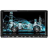 Universal Car DVD Player GPS Navigation Auto Radio 7 Inch Double 2 Din Car Bluetooth In Dash Stereo Audio Dual-Core Touch Screen Bluetooth