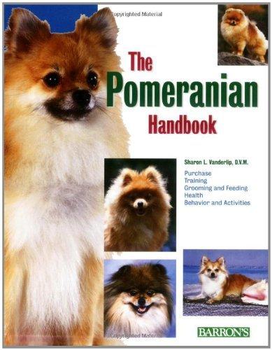 (Pomeranian Handbook (Pet Handbooks) by Sharon Vanderlip (1-Apr-2007) Paperback)