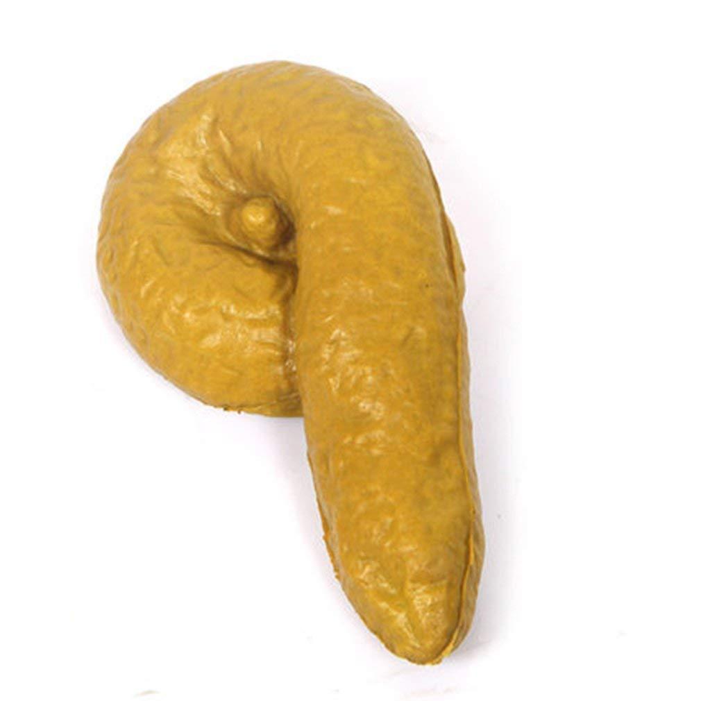 Tcplyn Premium Quality Prank Fake Poop Turd Crap Poo Gross Joke Dirty Trick Novelty Human Fun Pooper Baby Products Health Baby Care