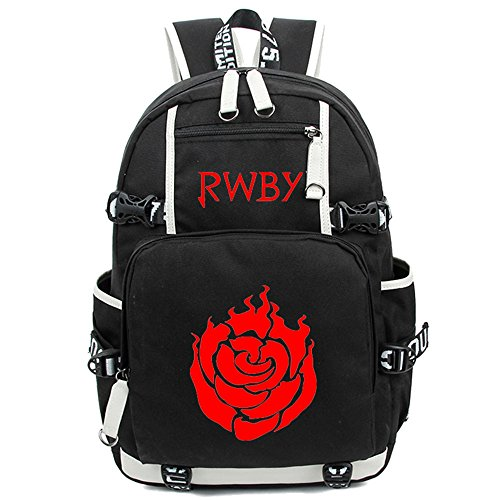 Siawasey Anime RWBY Ruby Rose Cosplay Backpack Shoulder B...