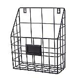 YUMU Metal Wall Mounted File Holder Single Pocket Organizer TB1045