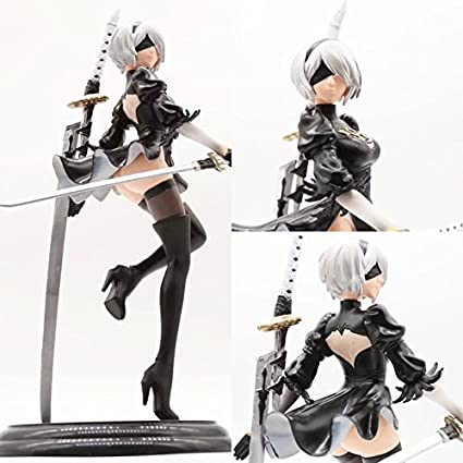 Toy, Play, Fun, 26cm Anime Game NieR Automata YoRHa No. 2 Type