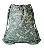 Army ACU ELITE Drawstring Backpack Review
