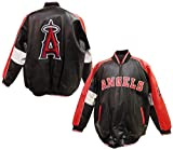 Los Angeles Angels of Anaheim Logo Pleather Jacket