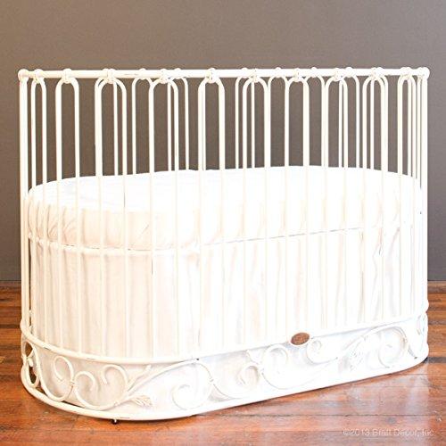 Bratt Decor j'adore crib-cradle distressed (Bratt Decor White Crib)