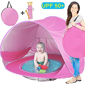Brilliant Beach Pool Tent Baby Quick Pop Game House Easy To Fold Portable Mini Pool For Kids Children With Shade And Windproof Comfort Swimming Pool & Accessories Activity & Gear