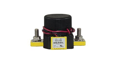 Amazon com: Gigavac contactor GX11CA 150 Amp - 750 Volt DC