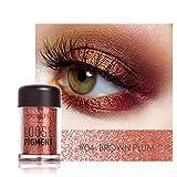 Makeup Loose Pigment Shadows Eye Mineral Powder Loose Glitter Eyeshadow Color Makeup