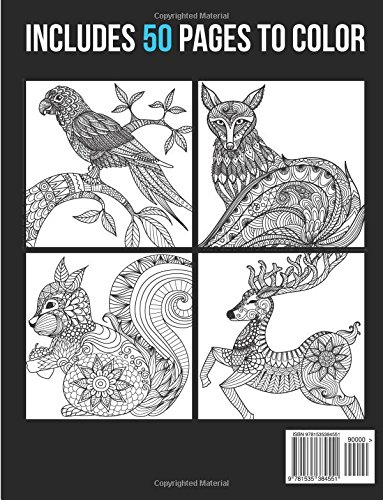 Amazon 2 Adult Coloring Books Animal Mandala Designs And Stress Relieving Patterns For Anger Release Relaxation Zen Animals