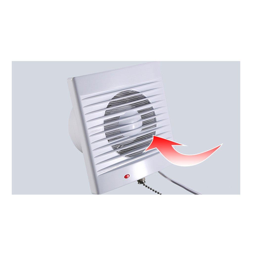 Ventilador de Aire Extintor de Cuarto de Ba/ño Techo Montaje en Pared Color Blanco
