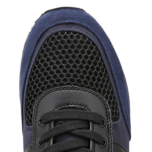 Sneaker Calvin Klein Smooth Suede Blu Uomo Estez Nylon zgXwHgxqv