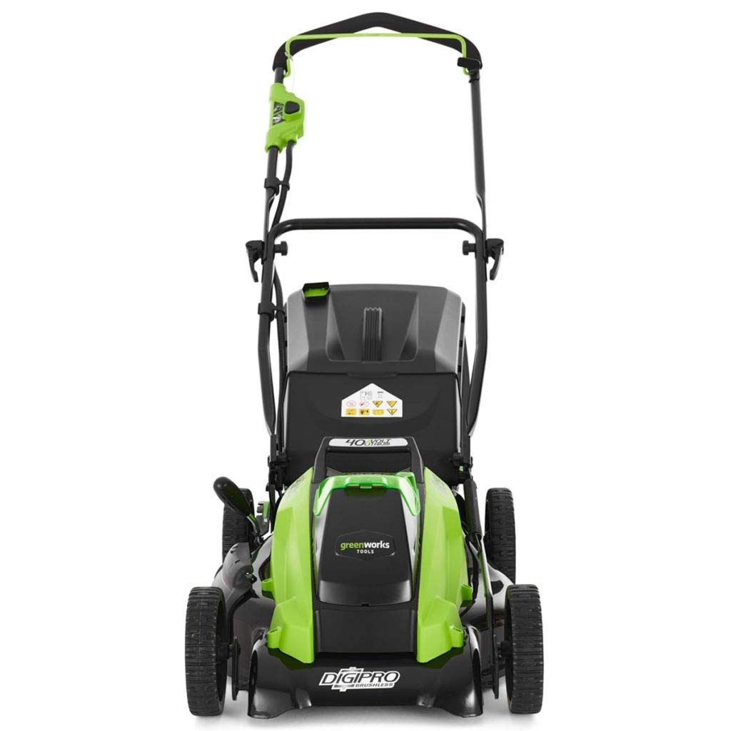 Greenworks Tools 2500407 cortacésped inalámbrico Lithium-Ion 40 V ...