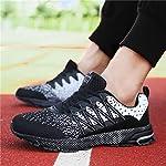 SOLLOMENSI Chaussures de Sport Running Basket Homme Femme Course Trail Entraînement Fitness Tennis Respirantes 8