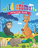Wild Animals Coloring Book, Neil Masters, 1628846534