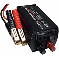 Power Invertor CPI 480 Watt DC to AC Continuous 600 Watt Peak Power Power Inverter System Convert 12 VDC to 110-117 VAC Auto Shutoff Thermal Circuity Direct to Battery