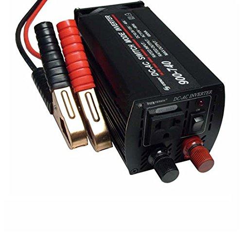 Power Invertor CPI 480 Watt DC to AC Continuous 600 Watt Peak Power Power Inverter System Convert 12 VDC to 110-117 VAC Auto Shutoff Thermal Circuity Direct to Battery