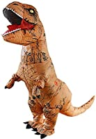 SUNREEK Disfraz Inflable de Dinosaurio T-Rex Adulto, Trajes de Dinosaurio Inflable Enorme explotar T-Rex para Adultos