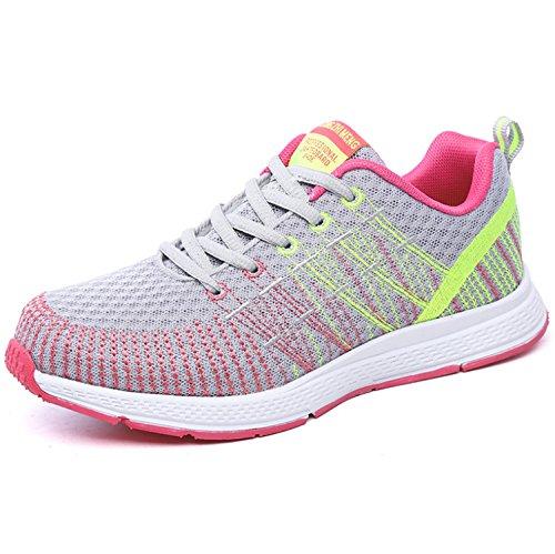 Zapatillas de Deporte Unisex de Moda Zapatillas de Deporte Ocasionales y Transpirables Zapatos Deportivos de Malla (35-40) Style5