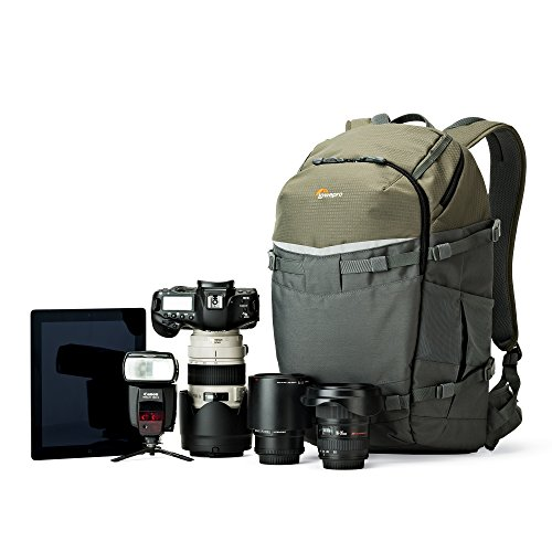 Lowepro Flipside Trek BP 450 AW. XL Outdoor Camera Backpack for DSLR w/ Rain Cover and Tablet Pocket by Lowepro (Image #2)