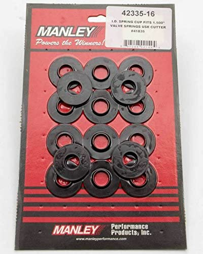 Spring OD 1.550in//ID .635in-Set of 16 Manley 42119-16 Valve Locator