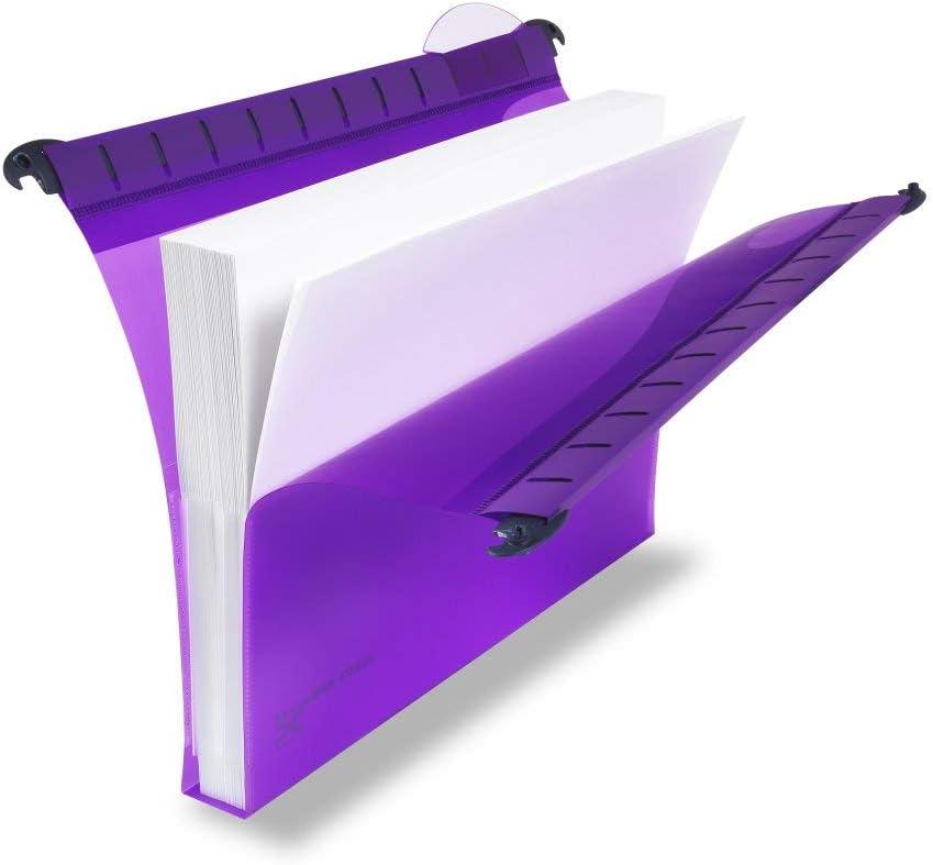 tama/ño folio, apertura en V, 15 mm, 20 unidades Rexel Multifile Plus Carpetas colgantes colores surtidos