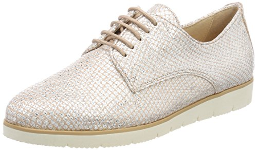 de Caprice Rosa Structure Cordones 23608 Mujer 540 Oxford para Zapatos Rose SSwEUO