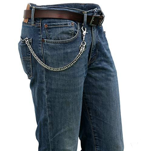 (Ruth&Boaz Angular chain Stainless Steel Key Chain Wallet Chain (24.8