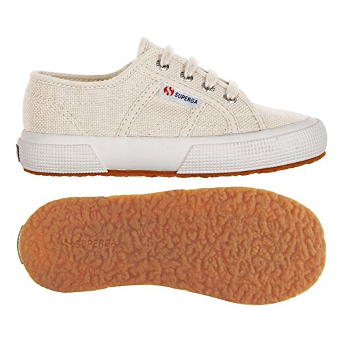 Superga  -  Zapatos,  color marfil, talla 27